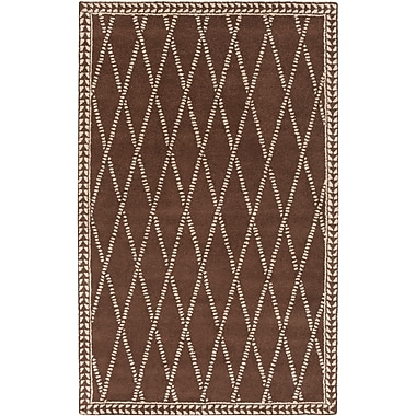 Surya Stampede SMP6003-811 Hand Tufted Rug, 8' x 11' Rectangle