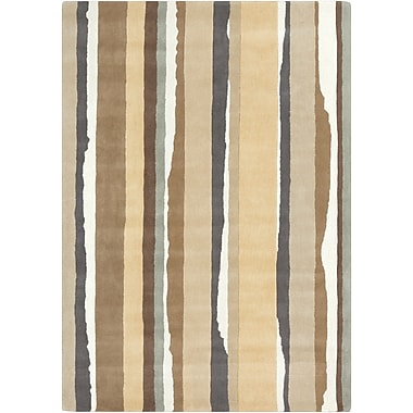 Surya Sanderson SND4500-58 Hand Tufted Rug, 5' x 8' Rectangle