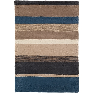 Surya Sanderson SND4518-811 Hand Tufted Rug, 8' x 11' Rectangle