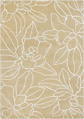 Surya Sanderson SND4522-58 Hand Tufted Rug, 5' x 8' Rectangle