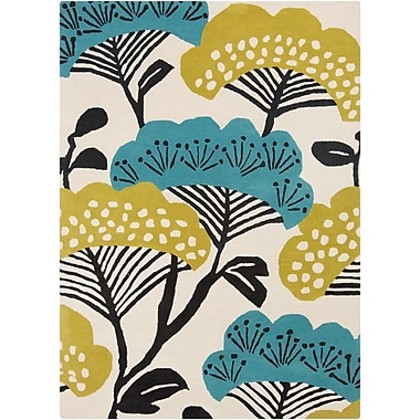 Surya Sanderson SND4527-811 Hand Tufted Rug, 8' x 11' Rectangle