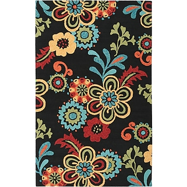 Surya Storm SOM7707-23 Hand Hooked Rug, 2' x 3' Rectangle