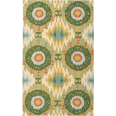 Surya Storm SOM7710-23 Hand Hooked Rug, 2' x 3' Rectangle
