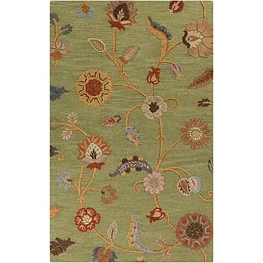 Surya Sprout SRT2003-58 Hand Tufted Rug, 5' x 8' Rectangle