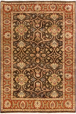 Surya Timeless TIM7920-5686 Hand Knotted Rug, 5'6