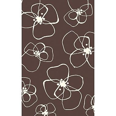 Surya Lotta Jansdotter Textila TXT3015-58 Hand Woven Rug, 5' x 8' Rectangle