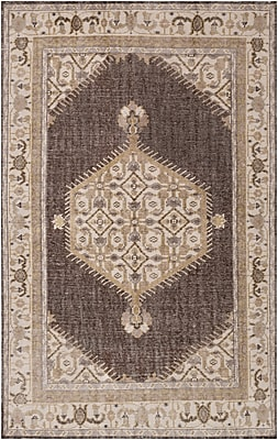 Surya Zahra ZHA4011-5686 Hand Knotted Rug, 5'6