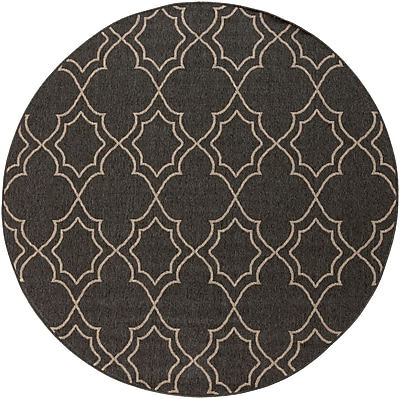 Surya Alfresco ALF9590-53RD Machine Made Rug, 5'3