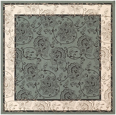 Surya Alfresco ALF9594-89SQ Machine Made Rug, 8'9