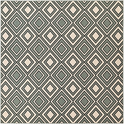 Surya Alfresco ALF9595-89SQ Machine Made Rug, 8'9