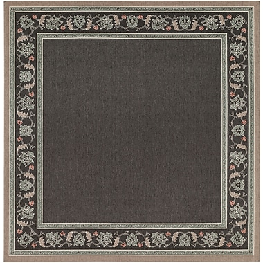 Surya Alfresco ALF9596-89SQ Machine Made Rug, 8'9