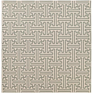 Surya Alfresco ALF9601-89SQ Machine Made Rug, 8'9