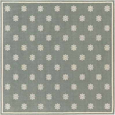 Surya Alfresco ALF9606-89SQ Machine Made Rug, 8'9