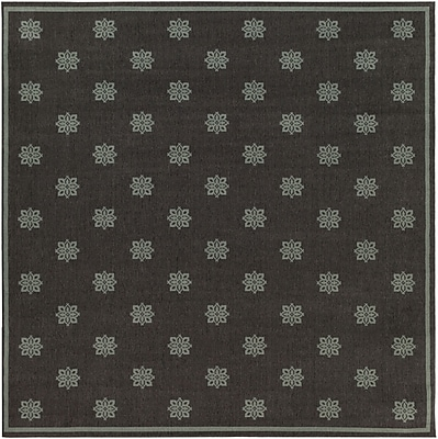 Surya Alfresco ALF9609-89SQ Machine Made Rug, 8'9