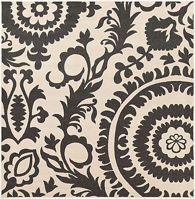 Surya Alfresco ALF9612-89SQ Machine Made Rug, 8'9