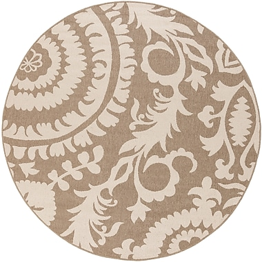 Surya Alfresco ALF9616-53RD Machine Made Rug, 5'3