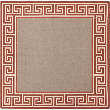 Surya Alfresco ALF9628-89SQ Machine Made Rug, 8'9