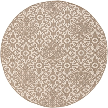 Surya Alfresco ALF9635-53RD Machine Made Rug, 5'3