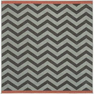 Surya Alfresco ALF9643-73SQ Machine Made Rug, 7'3