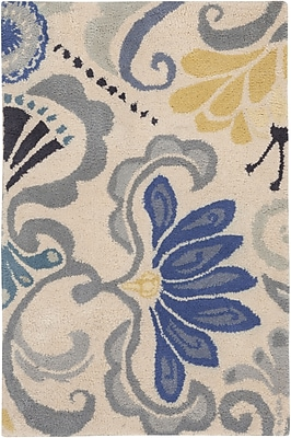 Surya KD Spain Alhambra ALH5017-23 Hand Tufted Rug, 2' x 3' Rectangle