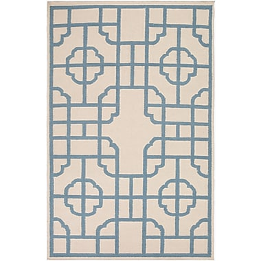 Surya Beth Lacefield Alameda AMD1065-58 Hand Woven Rug, 5' x 8' Rectangle