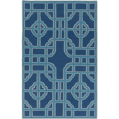 Surya Beth Lacefield Alameda AMD1071-58 Hand Woven Rug, 5' x 8' Rectangle