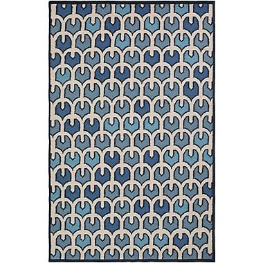Surya Beth Lacefield Alameda AMD1074-58 Hand Woven Rug, 5' x 8' Rectangle