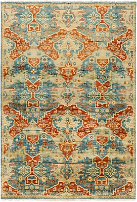 "Surya Antolya ANT9712-5686 Hand Knotted Rug, 5'6"" x 8'6"" Rectangle"