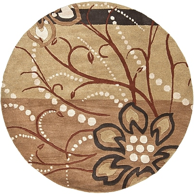 Surya Athena ATH5006-4RD Hand Tufted Rug, 4' Round