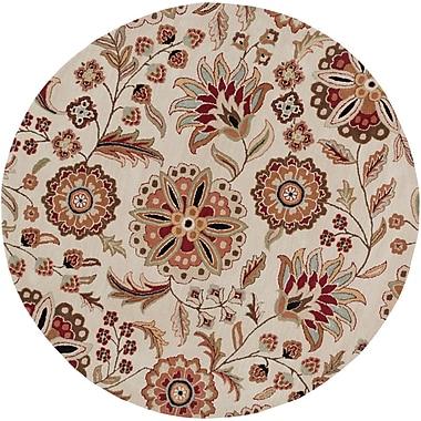 Surya Athena ATH5035-6RD Hand Tufted Rug, 6' Round