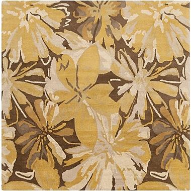 Surya Athena ATH5115-4SQ Hand Tufted Rug, 4' Square