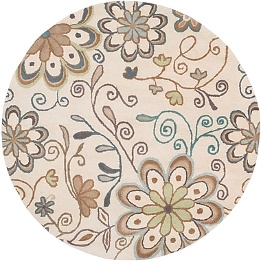 Surya Athena ATH5123-4RD Hand Tufted Rug, 4' Round