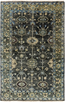 Surya Antique ATQ1008-811 Hand Knotted Rug, 8' x 11' Rectangle