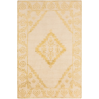Surya Bagras BGR6001-23 Hand Knotted Rug, 2' x 3' Rectangle