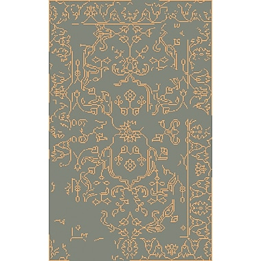 Surya Bagras BGR6004-58 Hand Knotted Rug, 5' x 8' Rectangle