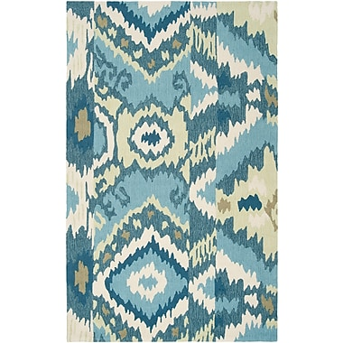 Surya Brentwood BNT7678-58 Hand Hooked Rug, 5' x 8' Rectangle
