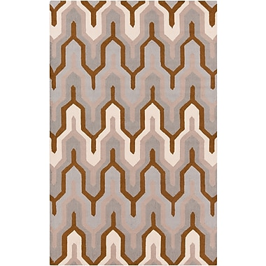 Surya Brentwood BNT7702-58 Hand Hooked Rug, 5' x 8' Rectangle