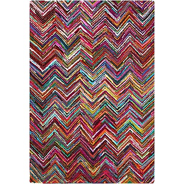Surya Boho BOH2000-913 Hand Hooked Rug, 9' x 13' Rectangle