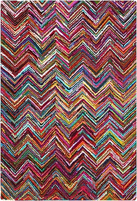 Surya Boho BOH2000-811 Hand Hooked Rug, 8' x 11' Rectangle