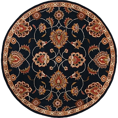 Surya Caesar CAE1102-4RD Hand Tufted Rug, 4' Round