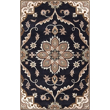 Surya Caesar CAE1113-46 Hand Tufted Rug, 4' x 6' Rectangle