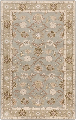 Surya Caesar CAE1126-46 Hand Tufted Rug, 4' x 6' Rectangle