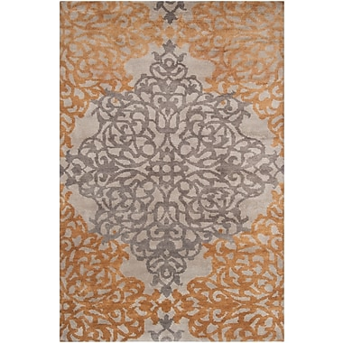 Surya Caspian CAS9914-811 Hand Knotted Rug, 8' x 11' Rectangle