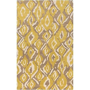 Surya Beth Lacefield Calaveras CAV4000-58 Hand Tufted Rug, 5' x 8' Rectangle
