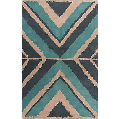 Surya Beth Lacefield Calaveras CAV4001-58 Hand Tufted Rug, 5' x 8' Rectangle