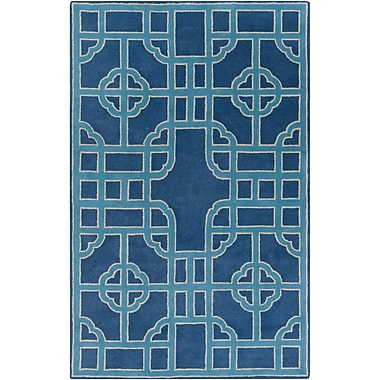 Surya Beth Lacefield Calaveras CAV4031-58 Hand Tufted Rug, 5' x 8' Rectangle