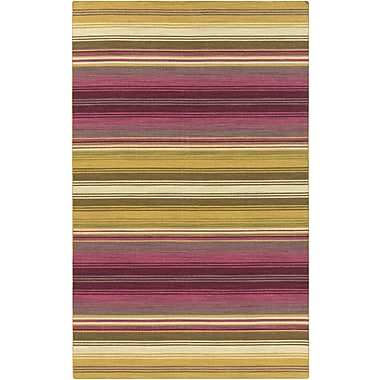 Surya Calvin CLV1049-23 Hand Woven Rug, 2' x 3' Rectangle