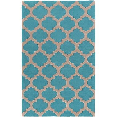 Surya Centennial CNT1100-58 Hand Hooked Rug, 5' x 8' Rectangle