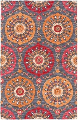 Surya Centennial CNT1101-58 Hand Hooked Rug, 5' x 8' Rectangle