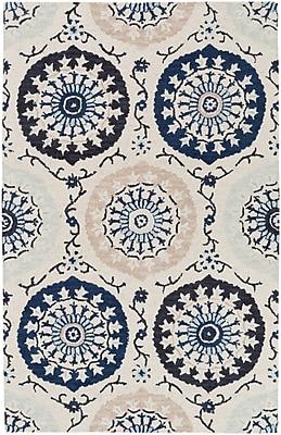 Surya Centennial CNT1103-58 Hand Hooked Rug, 5' x 8' Rectangle